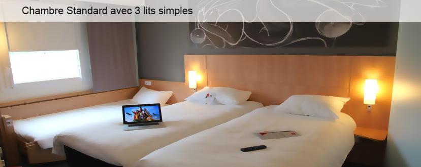 Hotel ibis les herbiers chambre triple